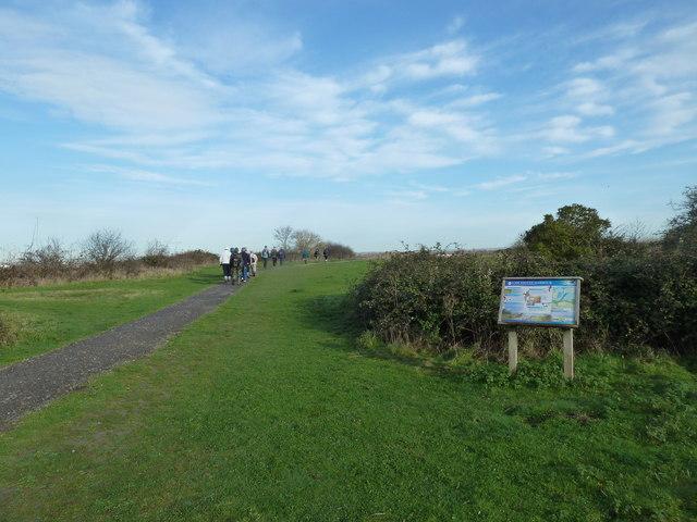 A circular walk around North Hayling (30)