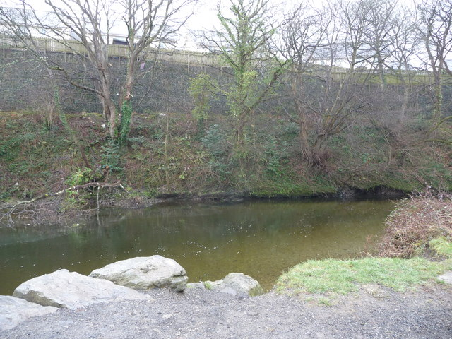 Turn on the Afon Rheidol below Southgate