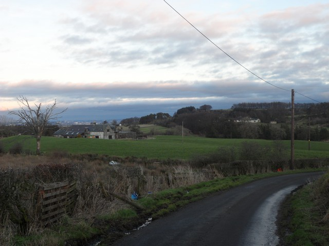 Laigh Auchensale from Forehouse Road