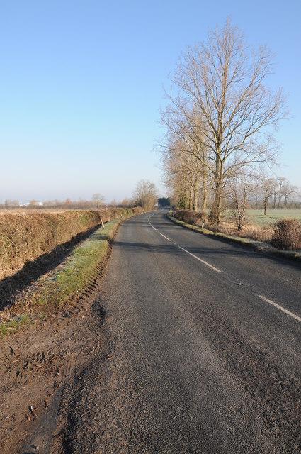 The B4008 near Haresfield