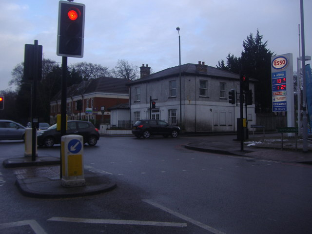 Junction of Croydon Road and Westerham Road