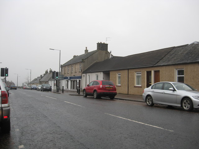 The Main Street in Forth, South Lanarkshire