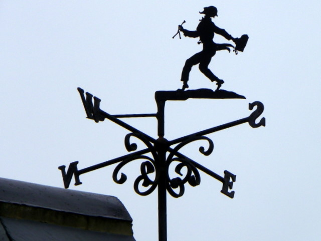 Weather vane, Britford