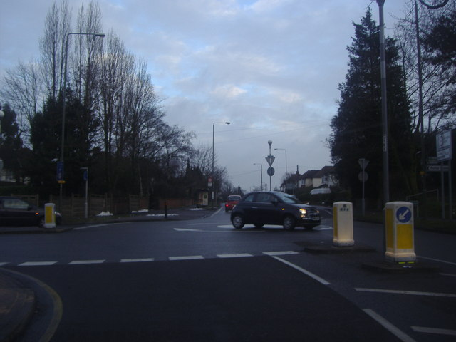 Junction of Crofton Road and Crofton Lane