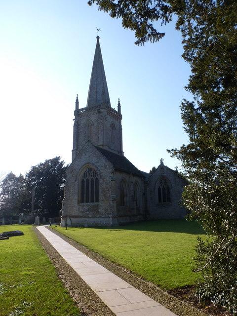 Trent: churchyard path