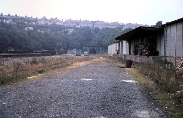 Kemp Town goods yard 1971