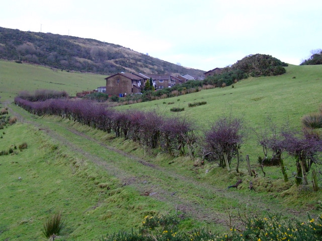Track near Flatterton Farm