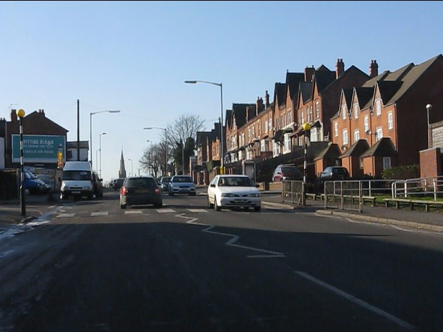 Old and new housing, Washwood Heath Road