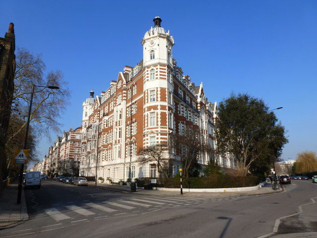 St. John's Wood High Street junction with Prince Albert Road