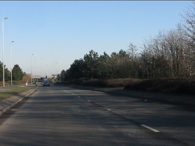 Heartlands Parkway east of Cuckoo Road roundabout