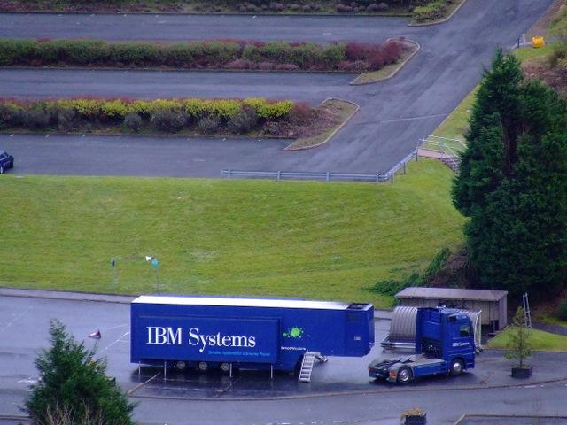 IBM truck