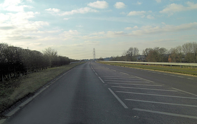 A415 south of Culham Engineering Centre
