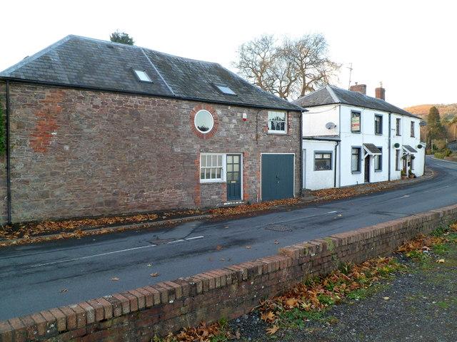 Pen-y-pound houses, Abergavenny
