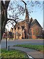 TQ4275 : St Barnabas, Rochester Way by Stephen Richards