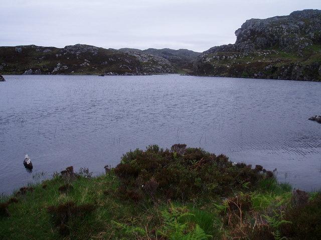 Loch na Creige Leithe