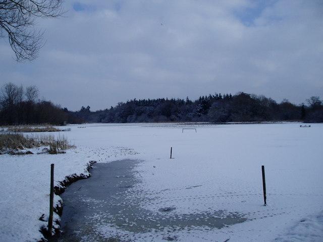 Frozen Mill Pond