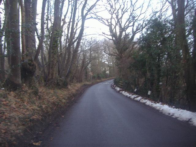 Skeet Hill Lane, near Lullingstone