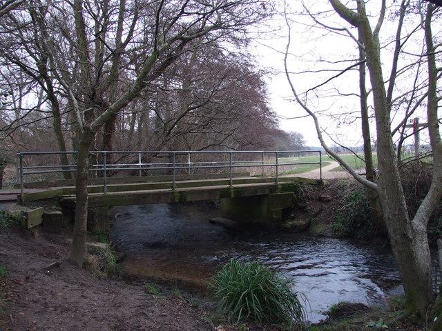 Bridge Over River Crane, In Potterne Park