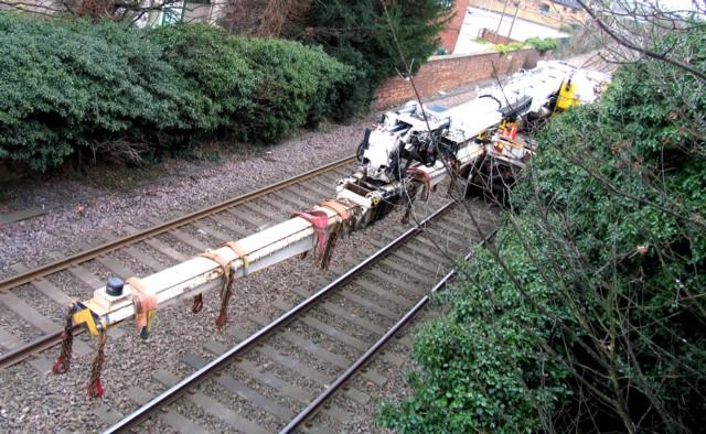 Rail Action at Oakham 07:Crane jib
