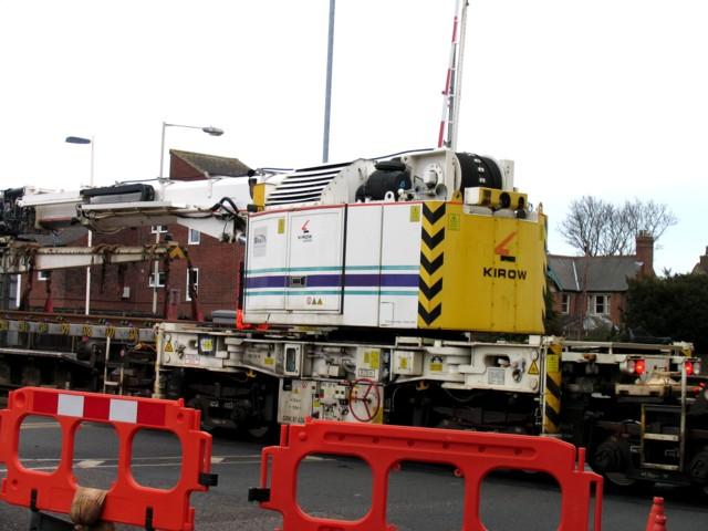 Rail Action at Oakham 16:DSK 81 624