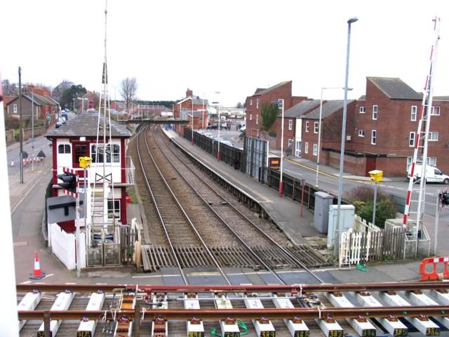Rail Action at Oakham 06:Oakham Station