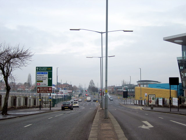 Longbridge Lane, Bristol Road South Junction