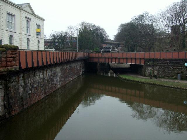 Bridge 123k  Chester Canal