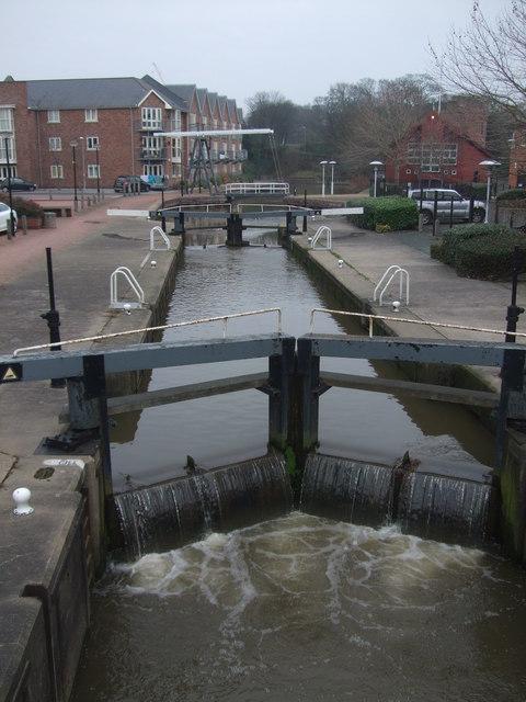 River lock Chester