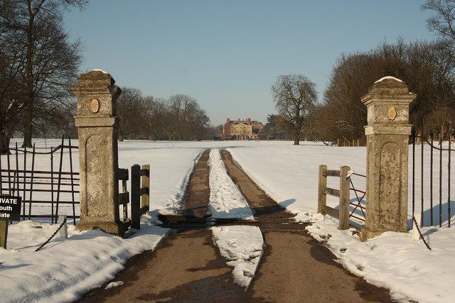 Gate Burton park