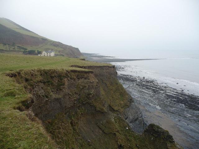 Coast path near Wallog