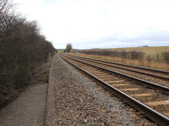 Railway line to Birmingham