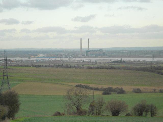 The Thames Estuary from Shorne, Kent