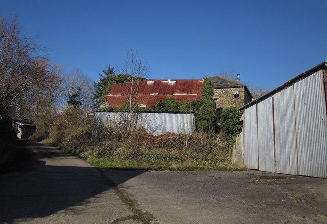 Farm buildings, Lower Rexton