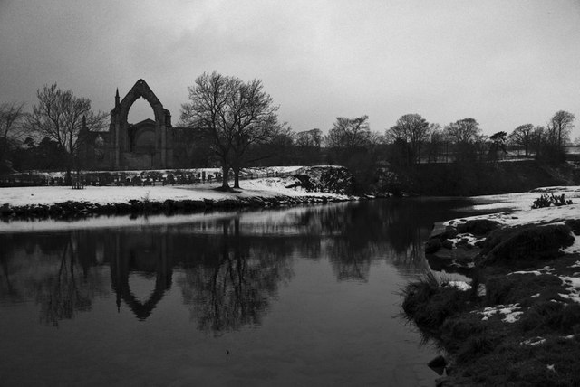 Winter at Bolton Abbey
