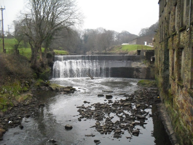 Weir at Roach Bridge