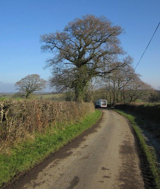 Lane past Rexton