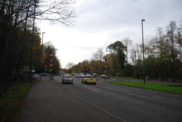 Traffic lights, A23
