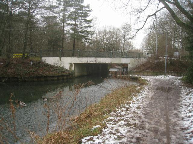The 'new' Pondtail Bridge