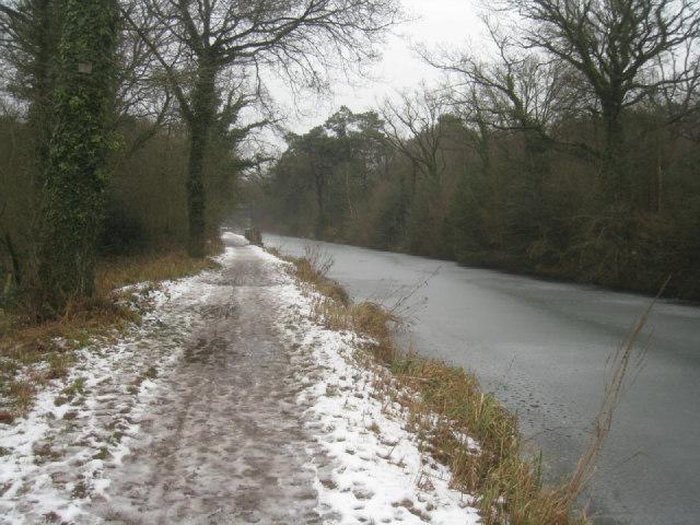 Approaching Pyestock Hill