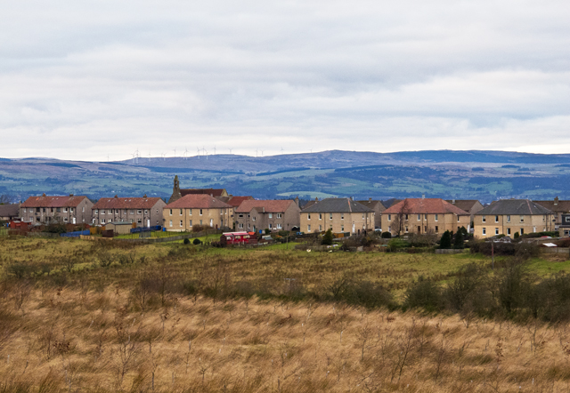 View towards Shieldhill