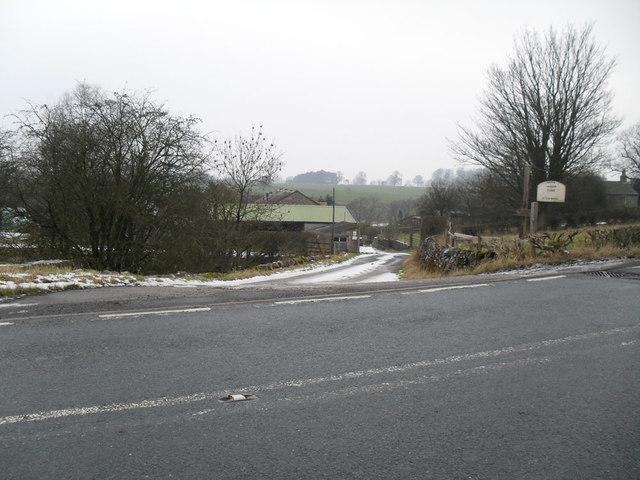 Nappa Manor Farm entrance