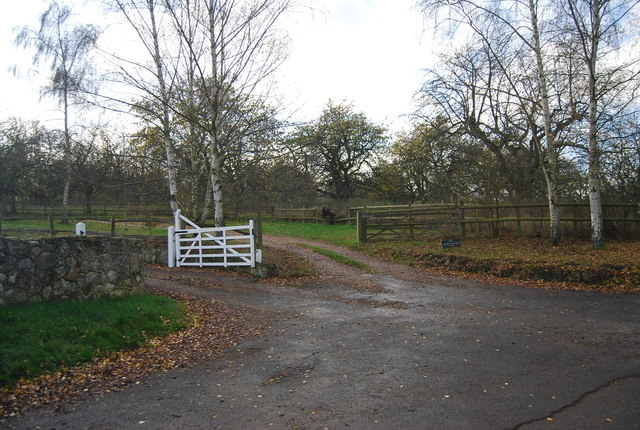 Entrance to Cherry Orchard Farm