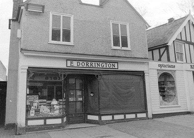E Dorrington, High Street