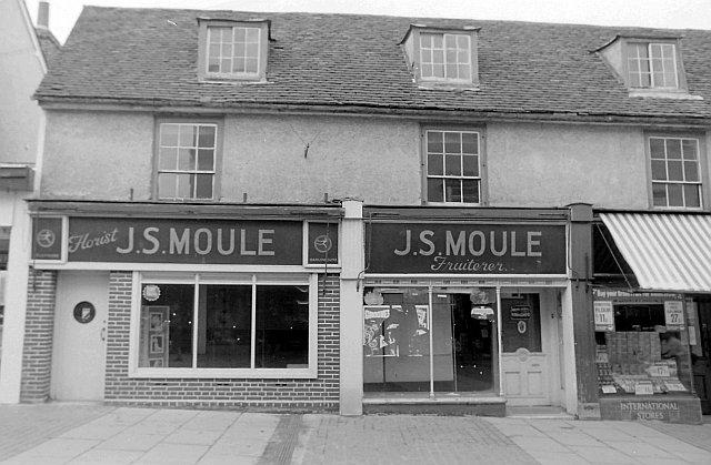 J S Moule, High Street