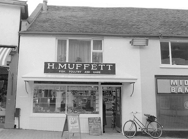 H Muffet, High Street
