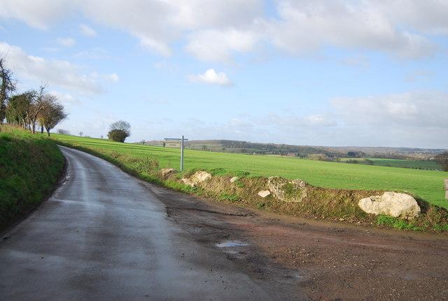 Warnhams Farm sign, Hunt Street