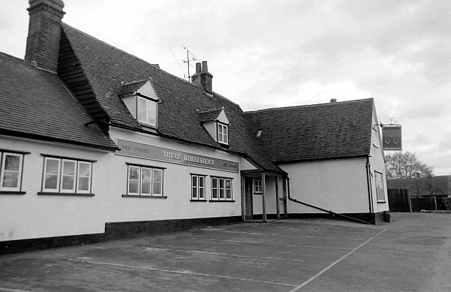 The Three Horseshoes, Great Parndon