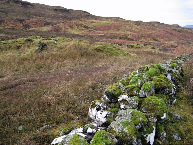 Ruins of Glen Bracadale township