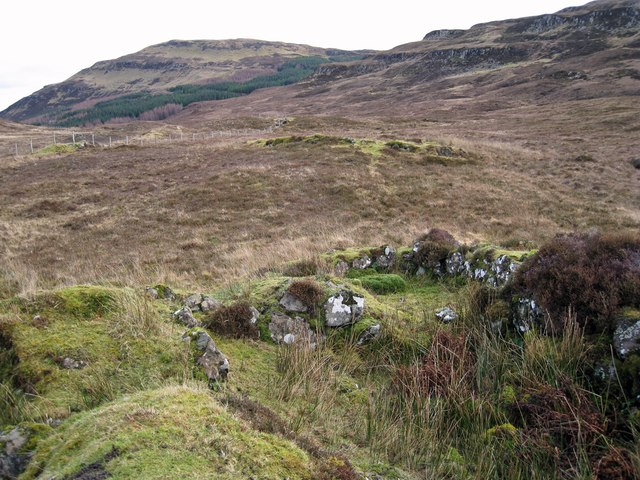 Ruins of Glen Bracadale township