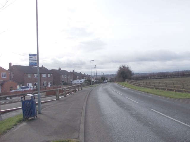 Hunsworth Lane - viewed from near M62